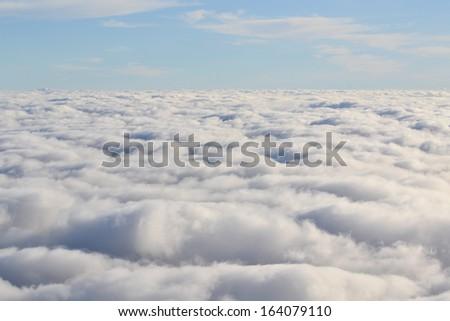 Cloud layer - stock photo