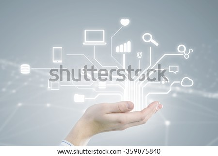 Cloud sharing and connection