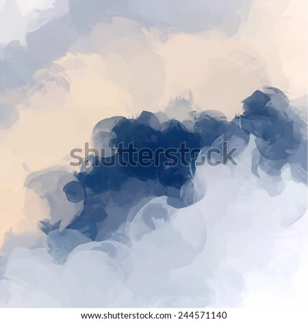 Clouds abstract background - stock photo