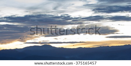clouds and dramatic sky background