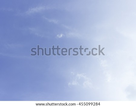 clouds in the blue sky sky, cloud, blue, background, light, clear, white, softness, brightly, bright, summer, spring, sun, day, heaven, wind, weather, relaxation, open, backdrop, color, pattern, view - stock photo