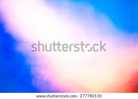 clouds on a textured vintage background - stock photo