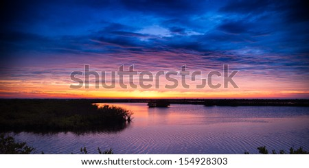 Clouds over Atlantic ocean, Merritt Island, Titusville, Brevard County, Florida, USA