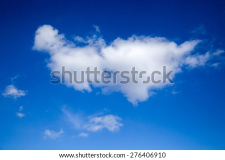clouds, white clouds, cloud, blue sky, white clouds in the blue sky, white clouds in the sky