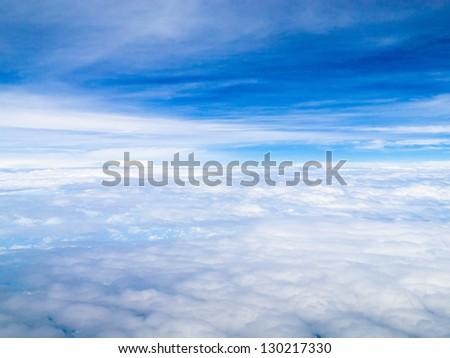 Cloudscape Divine Summer Sun - stock photo