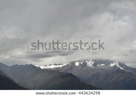 Cloudy mountains