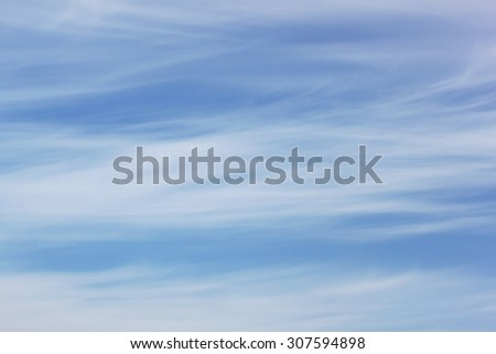 Cloudy sky - stock photo