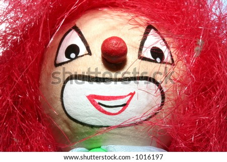 clown dolly face
