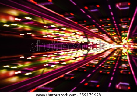 Club party background - stock photo
