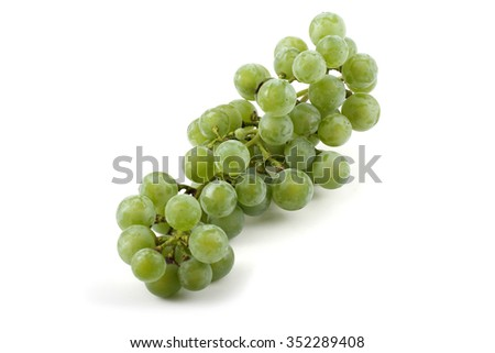 Cluster of wine grape
