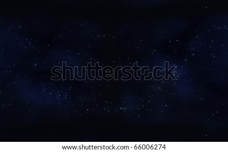 clusters star in space