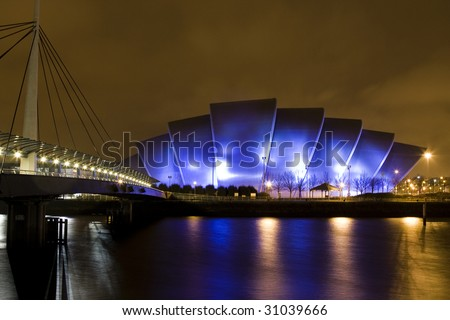 Clyde Auditorium also know as The Armadillo