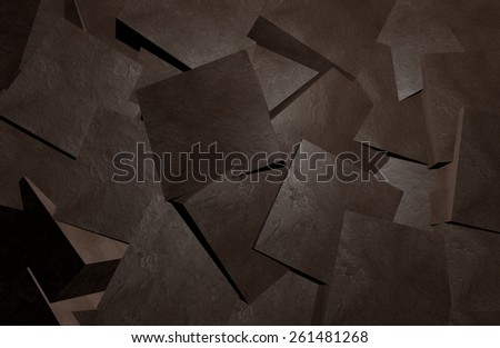 Coal blocks abstract background - stock photo