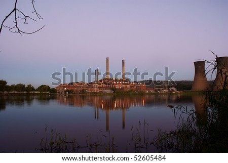 Coal Fired Power Station.