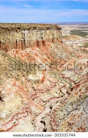 Coal Mine Canyon - stock photo
