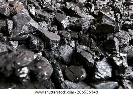 Coal, mine, power. - stock photo
