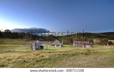 Coalmine Homestead in the Snowy Mountains