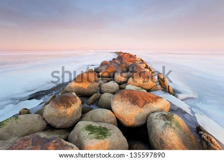 coast - stock photo