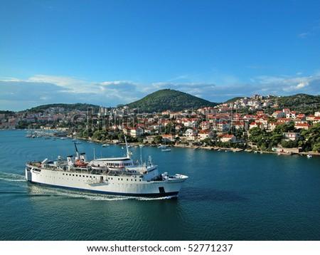 Coast of Croatia - stock photo