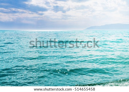 coast of Lake Baikal. Listvyanka Russia waterview