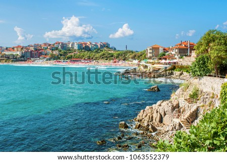 Coast of Sozopol (Bulgaria)