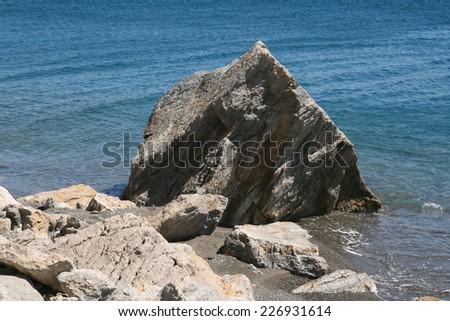 coast of the Aegean, Greece, Kos,  - stock photo