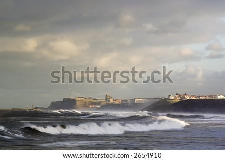 Coastal defense - stock photo