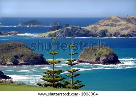 Coastal Islands - stock photo
