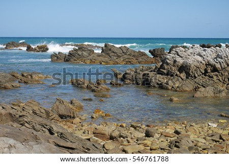 Coastal Line in South Africa,  Cape Agulhas
