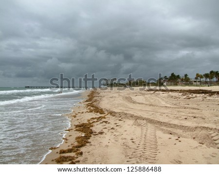 coastal scenery around Fort Lauderdale, a city in Florida (USA) - stock photo