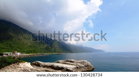 Coastline View at East Taiwan