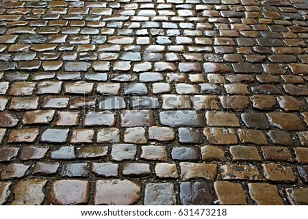 Cobblestone Road Stock Images Royalty Free Images
