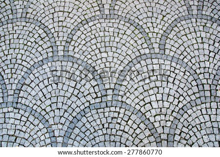 Cobblestones Background / Cobblestones - stock photo