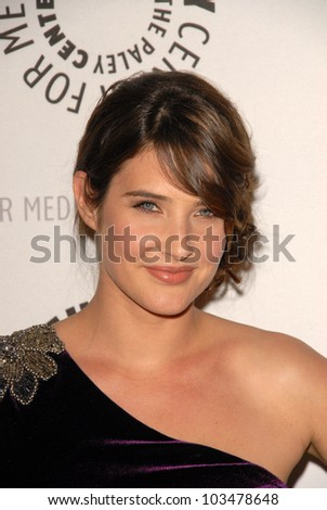 Cobie Smulders at the Paley Center's 'How I Met Your Mother' 100th Episode Celebration, Paley Center for Media, Beverly Hills, CA. 01-07-10
