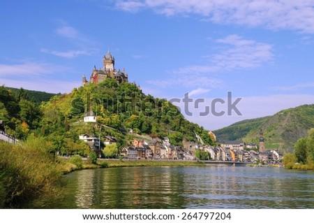 Cochem Castle  - stock photo