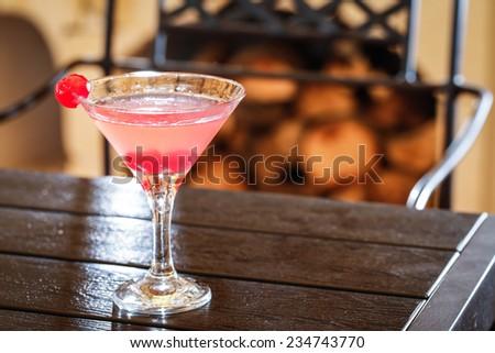 cocktail drink margarita - stock photo