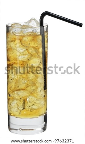 Cocktail energy drink - stock photo