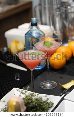 cocktail in party - stock photo
