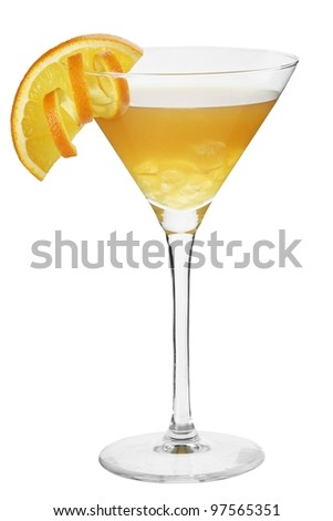 Cocktail Olympic - stock photo