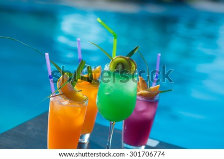 Cocktails - stock photo