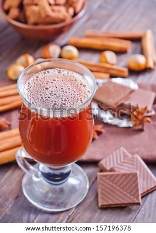 cocoa - stock photo