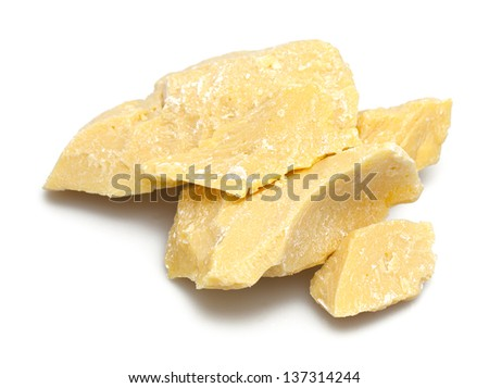 cocoa butter - stock photo