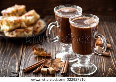 cocoa drink - stock photo