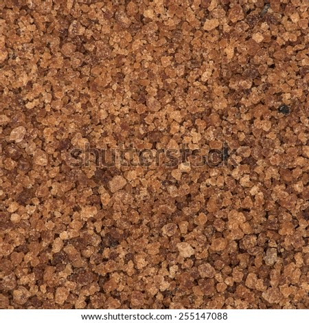 Coconut blossom sugar for texture or background - stock photo