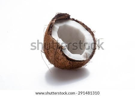 Coconut, Fruit, Vegetable.