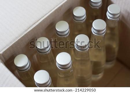 Coconut oil. - stock photo