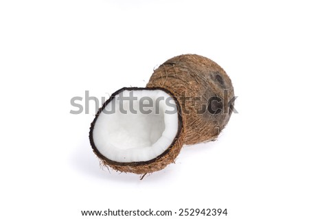 Coconut without husk
