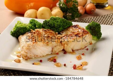 Cod Fish  - stock photo
