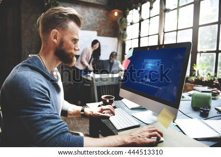 Code Coding Computer Modern Device Concept - stock photo