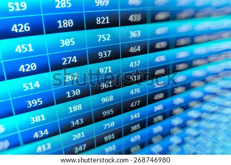 Coding application by programmer developer. Web app coding. Script on computer with source code. Programming code abstract background screen of software. Blue color.  - stock photo